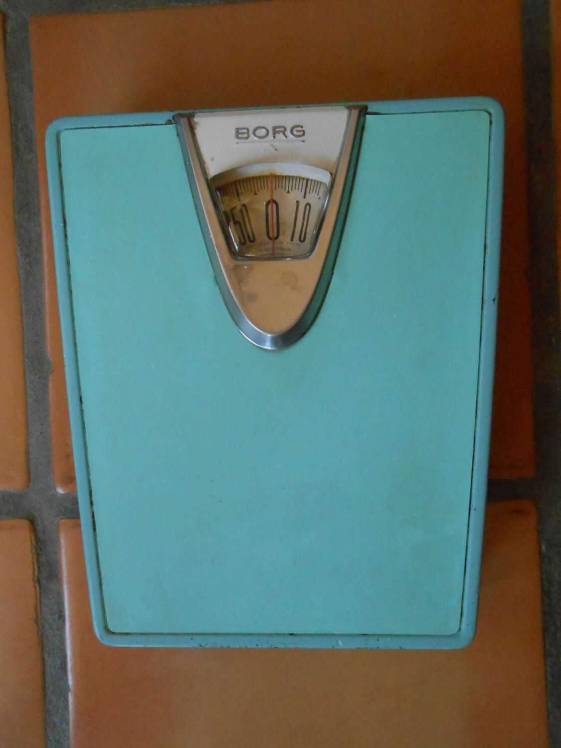 Retro bathroom scales - Bathroom Scale Early 1950s Borg Erickson Corp Pat Nos 2228874