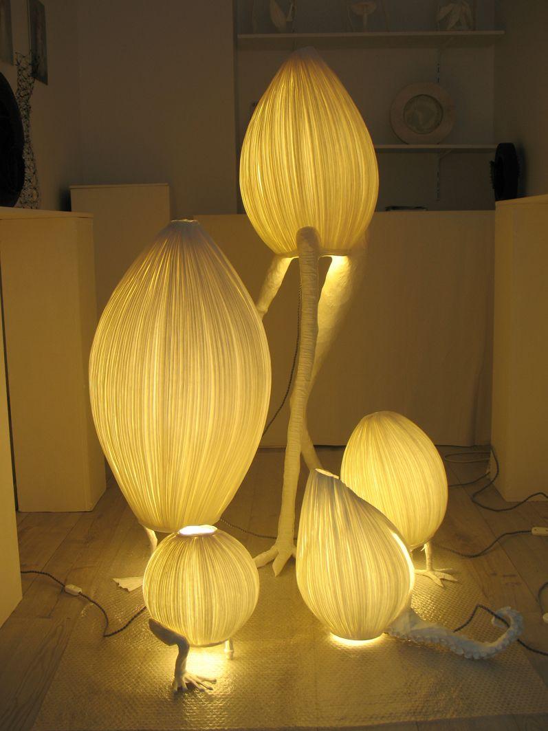 Papier A Etres Sculptures Lumineuses Paper Paper Paper
