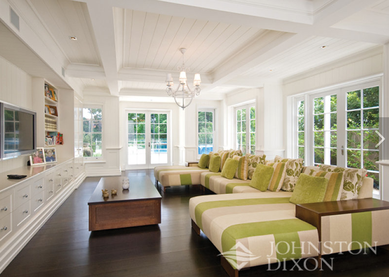 Gentil Cape Cod Style Decorating | Lots Of Beautiful Joinery Everywhere. This Is  The Informal Living Room .