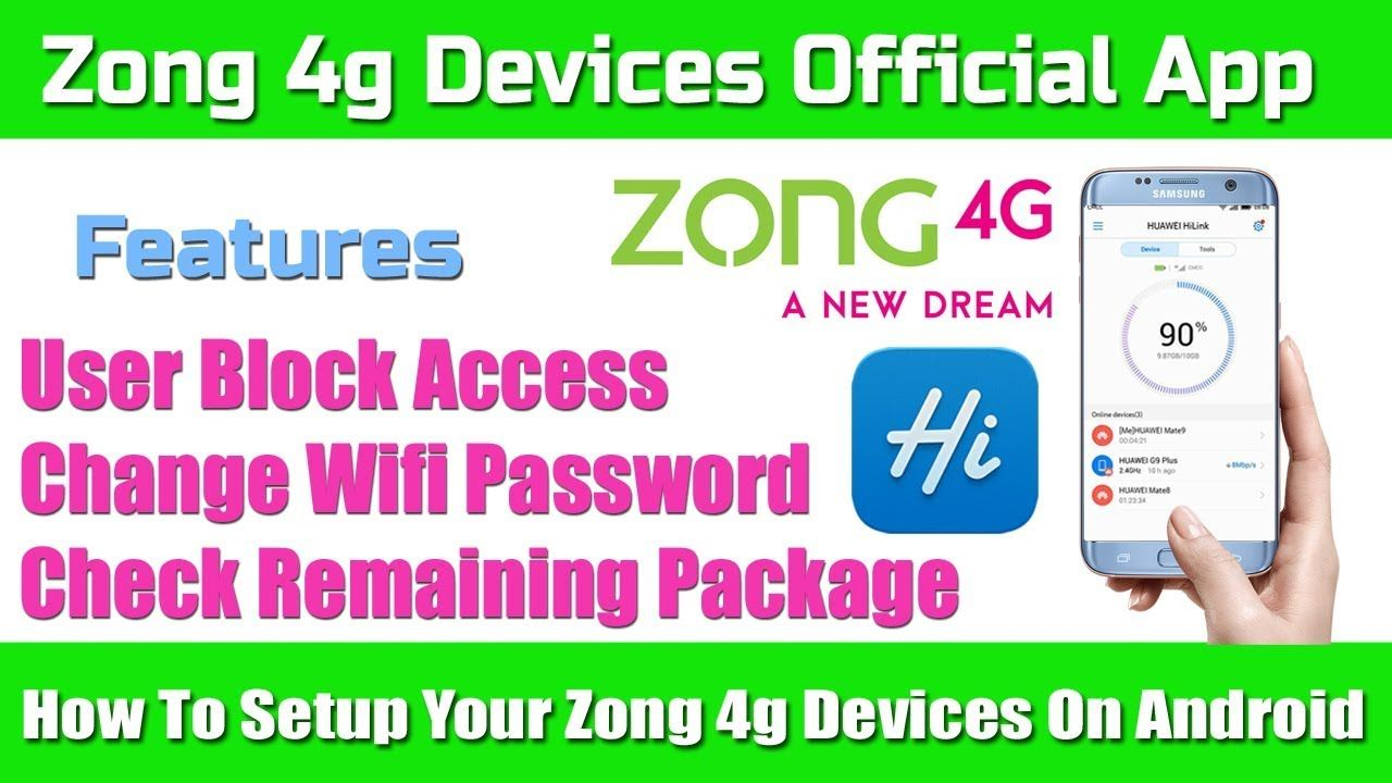 How To Setup Your Zong 4g Devices On Android With Official