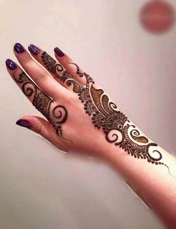 Henna Designs For Women: Incredible Henna Tattoo Design For Girls