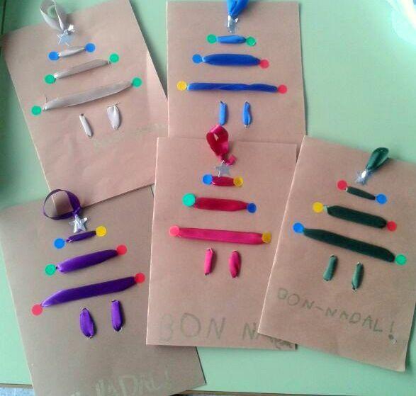 tarjetas de navidad para hacer con nios de preescolar buscar con google