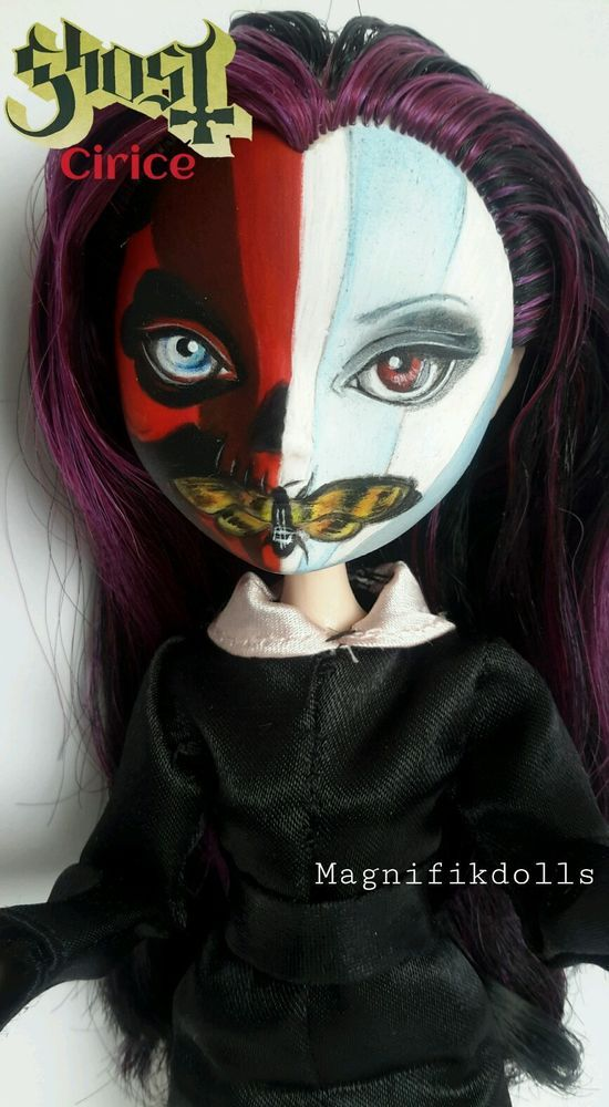 One of my most interesting dolls!!! OOAK  Repaint Raven Ever After high CIRICE by ✿Magnifikdolls✿