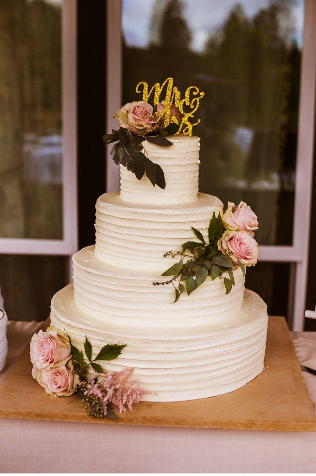 Simple 4 tier wedding cake 4 tier wedding cake, Wedding