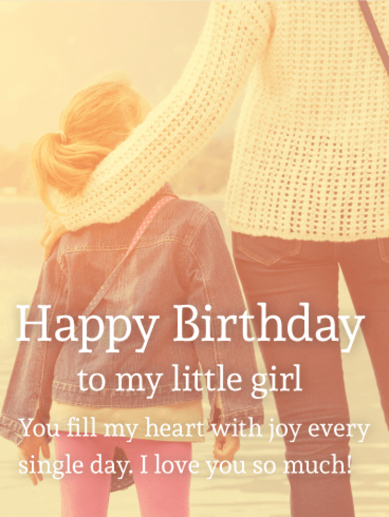 Pleasing Happy Birthday Daughter Images Birthday Quotes For My Little Girl Birthday Cards Printable Trancafe Filternl