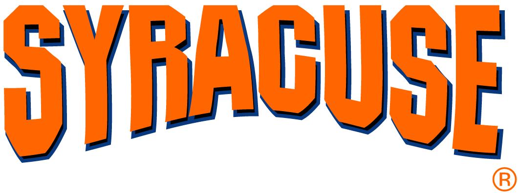 Syracuse Orange Wordmark Logo Ncaa Division I S T Ncaa S T Word Mark Logo Syracuse Orange Logos