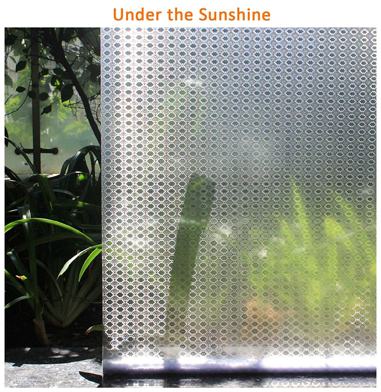 High Quality Amazon.com: Privacy Window Film Decorative Window Film Frosted Window Film  Static Cling Glass