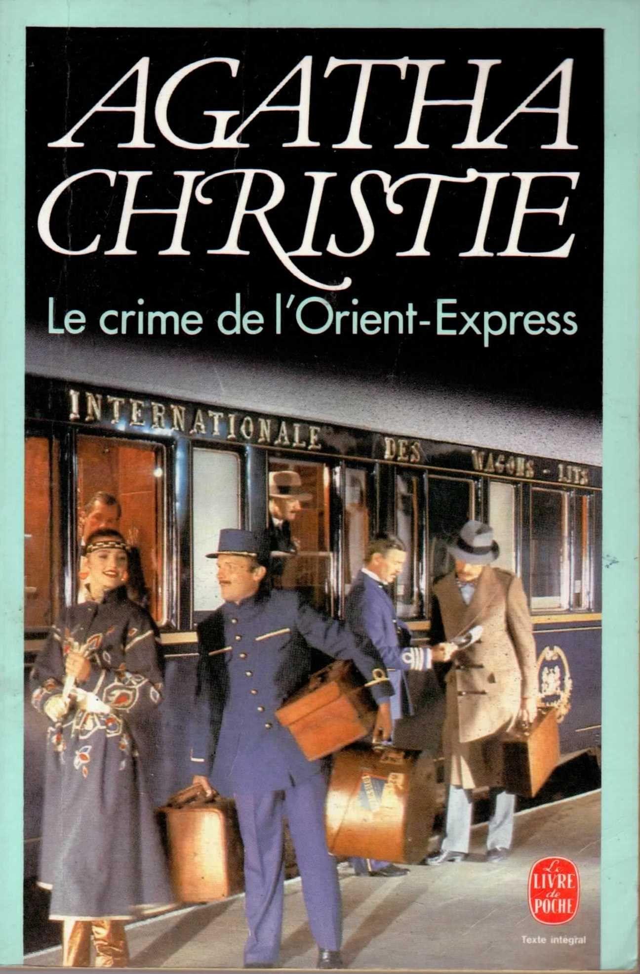 Le Crime De L'orient Express Livre : crime, l'orient, express, livre, Amazon.fr, Crime, L'Orient-Express, Agatha, Christie,, Louis, Postif, Livres, Lire,, Livre