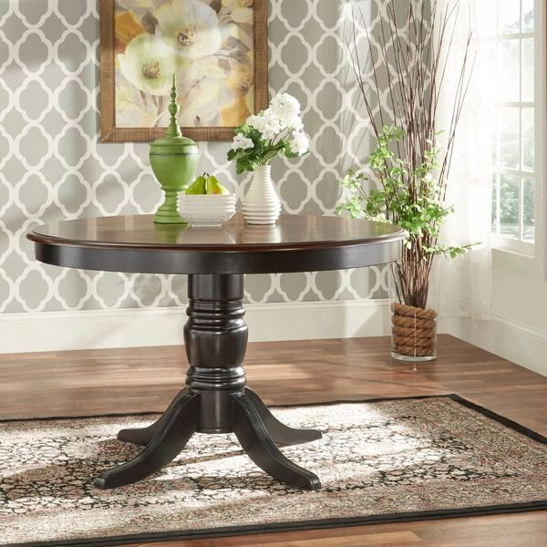 TRIBECCA HOME Mackenzie 5-piece Country Black Dining Set - Overstock Shopping - Big Discounts on Tribecca Home Dining Sets