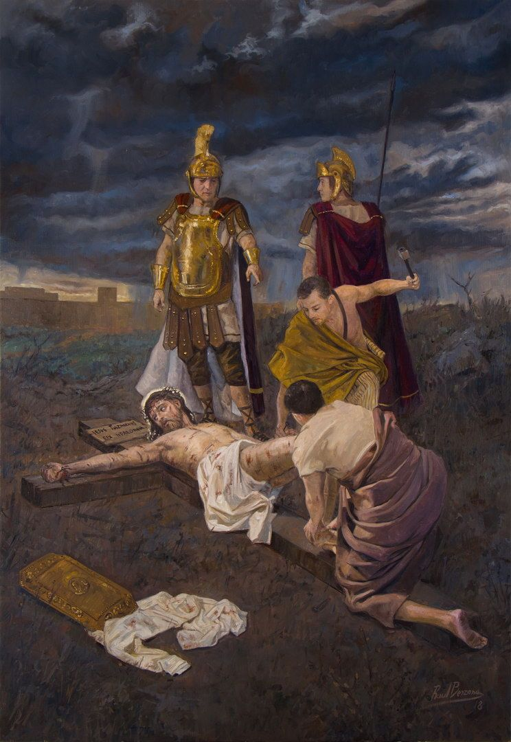 Jesus is Nailed to the Cross / Jesús es clavado en la cruz // By ...