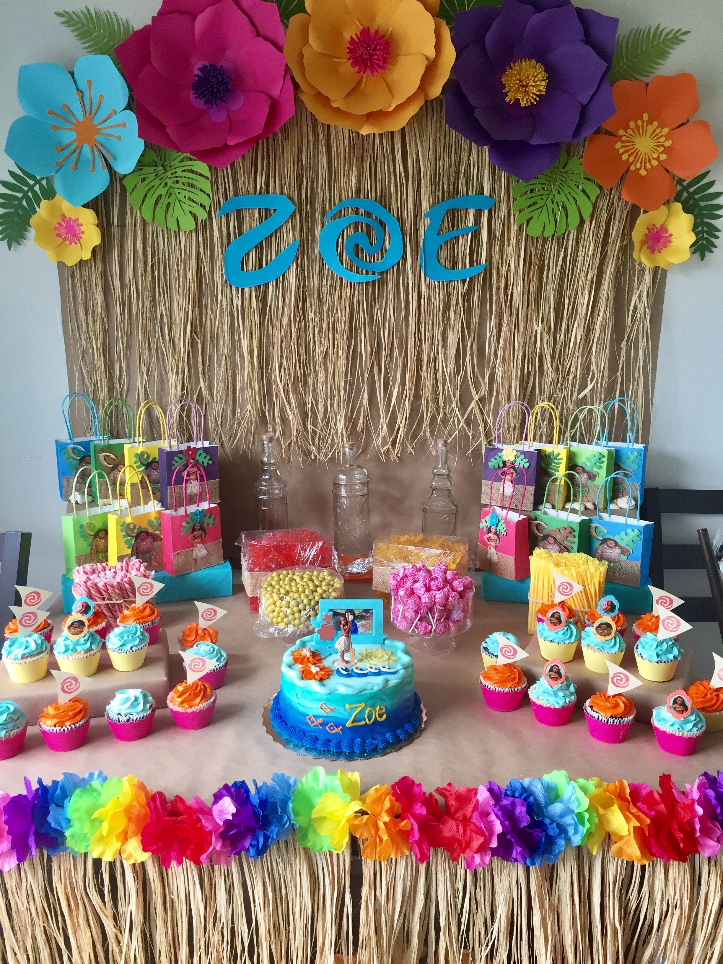 Pin de leana arzuaga en moana birthday pinterest - Ideas para fiestas en casa ...