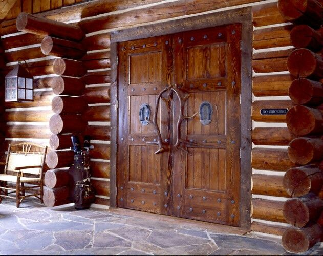 Log home entry | Rustic Living ~ Log Home, Timber Frame, & Country ...