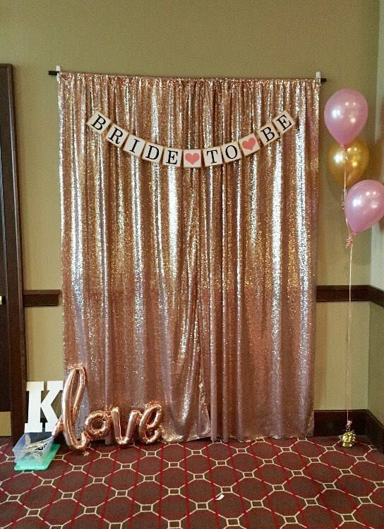San Tungus Silver Karaoke Show Birthday Photo Booth Sequin Wedding Backdrop Curtains 4ftx8ft