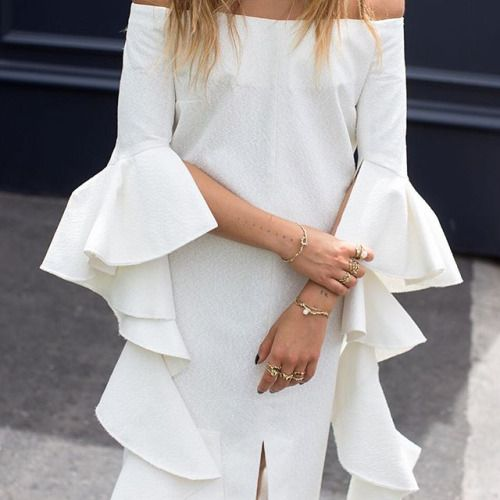 #flares #drapes #whites