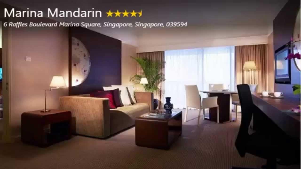 Marina Mandarin 6 Raffles Boulevard Marina Square Singapore