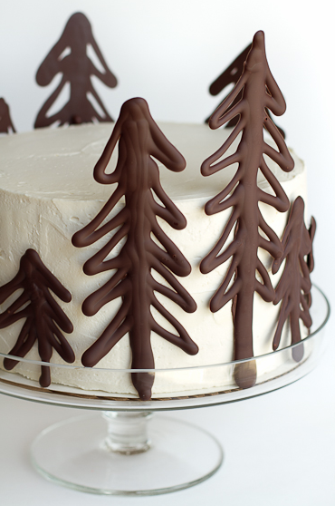 Forest Winter Tree Cake Chocolate Cakes And Such In 2019