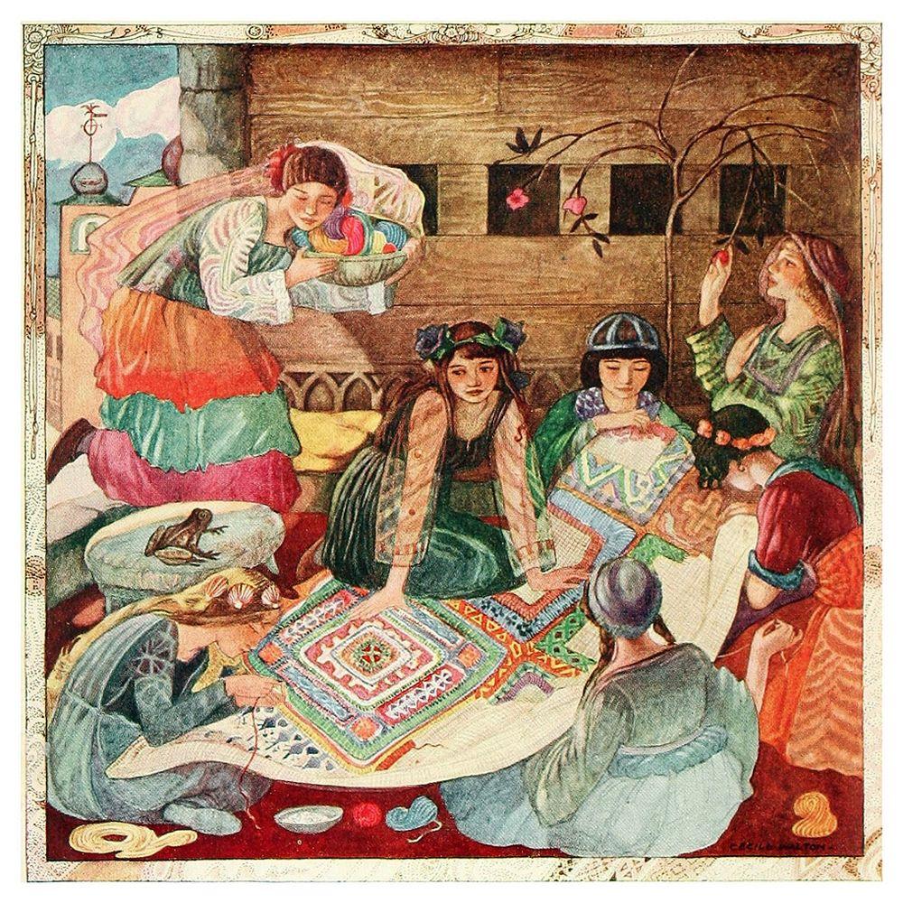 Польские народные сказки... Иллюстрации Cecile Walton ...