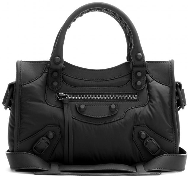 e51172e391a1 Balenciaga-Nylon-Mini-Classic-City-Bag-2