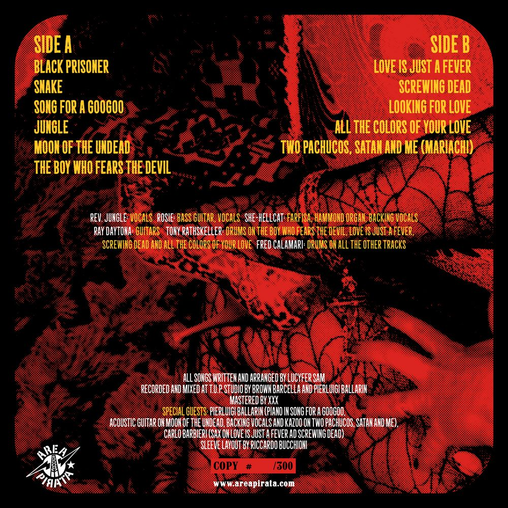 LUCYFER SAM,1st album,2016