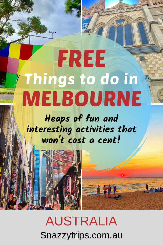 FREE Things To Do In Melbourne SNAZZY TRIPS TRAVEL BLOG