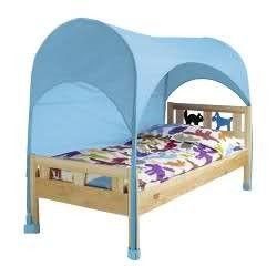 Kids Bed Tent Ikea Himmelsk Bed Canopy Blue Kids Bed Tent Kids