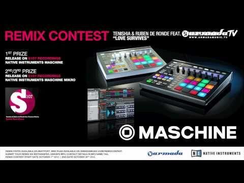 Remix contest for Tenishia & Ruben de Ronde – Love Survives