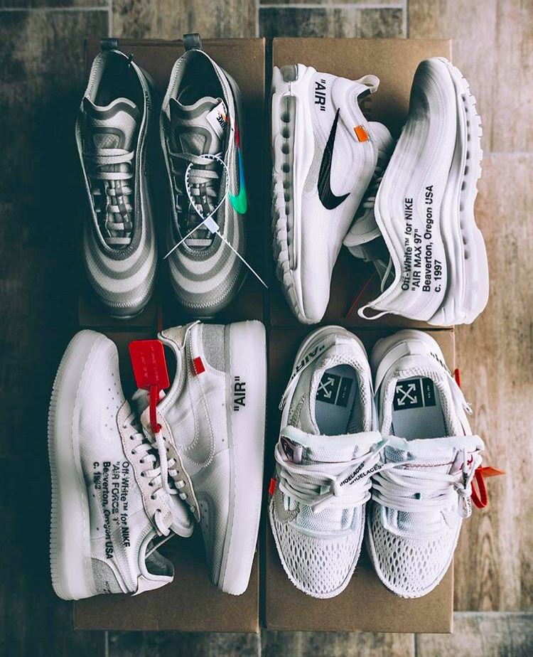 newest collection e1a77 6dfd4 Off-White x Nike Off White Trainers, Best Sneakers, Sneakers Fashion, Shoes