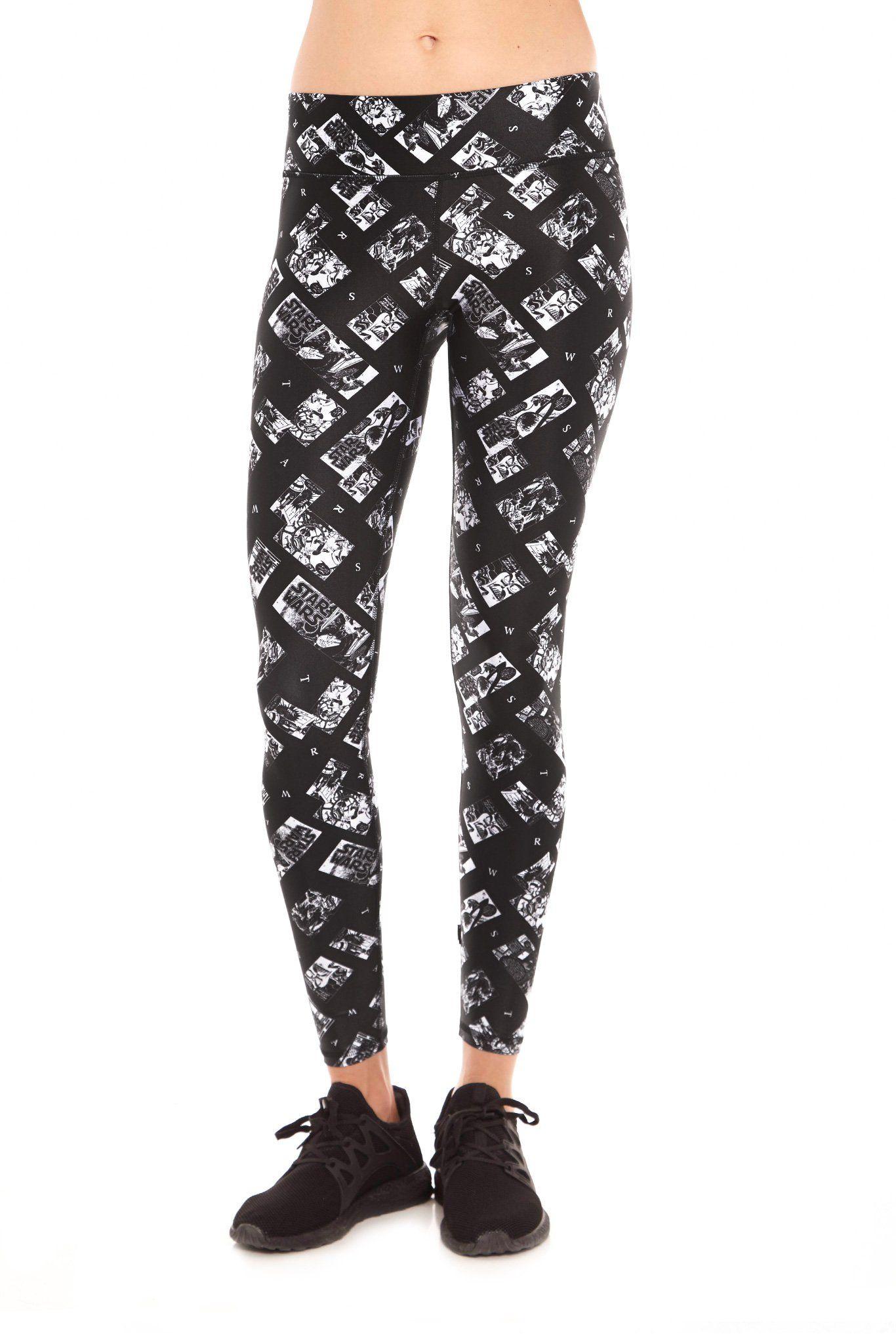 5fc456d36bf0d Women's Terez x Star Wars Comic Strip Leggings ⭐️The Kessel Runway ⭐ Star  Wars fashion ⭐ Geek Fashion ⭐ Star Wars Style ⭐ Geek Chic ⭐️