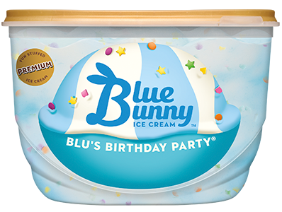 Blus Birthday PartyR Blue Bunny Ice Cream