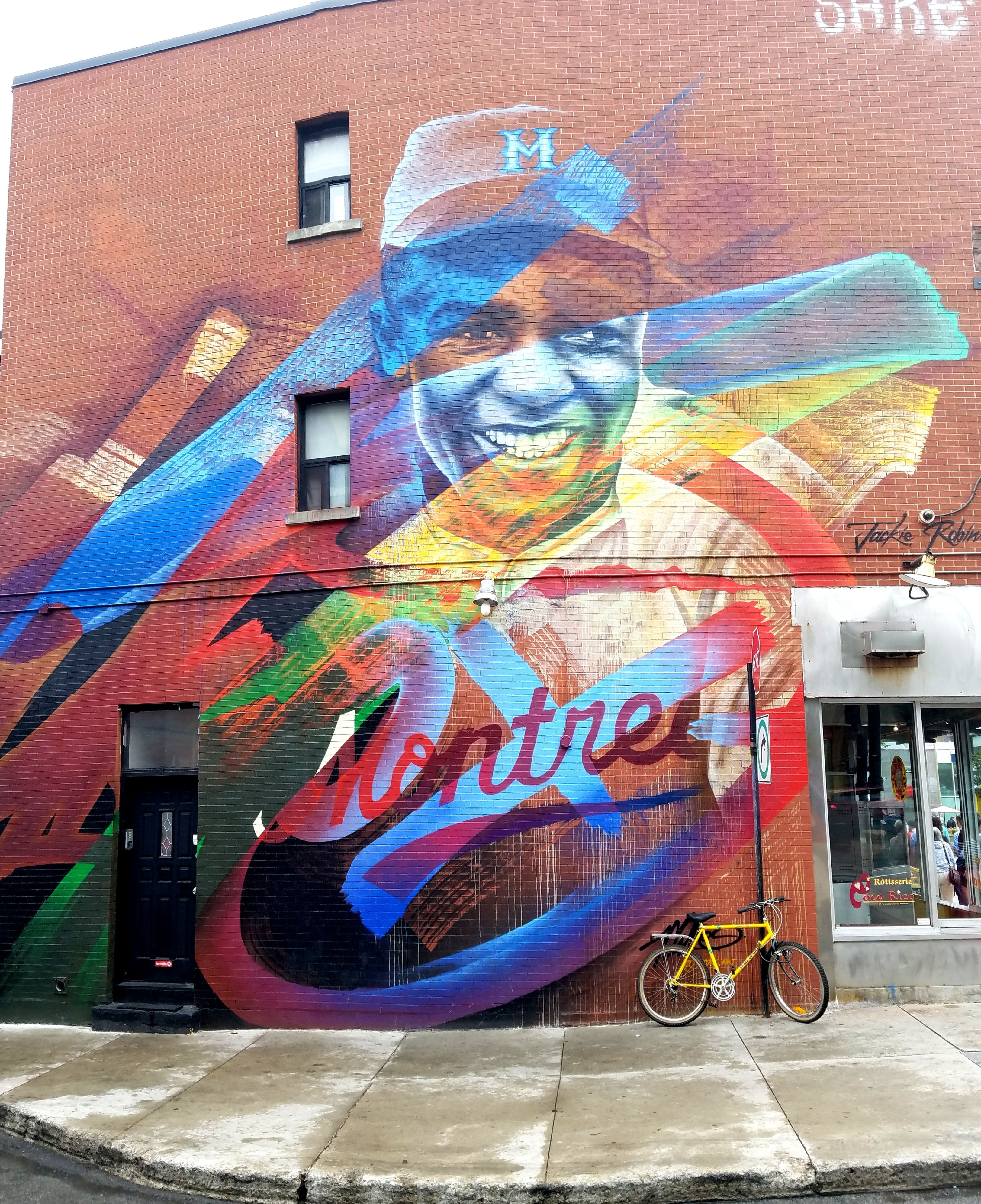 Montreal, Quebec - Street Art & Graffiti. This is a beautiful ...