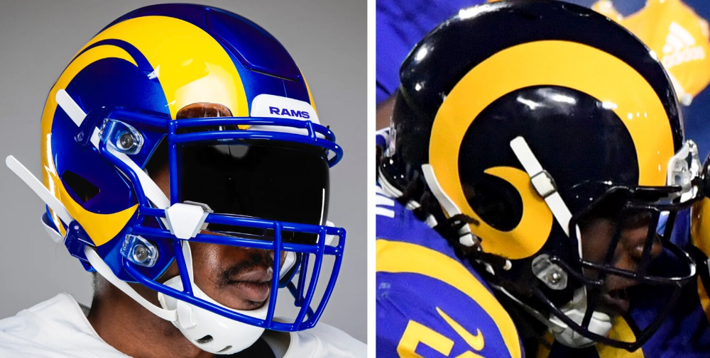 Pin by Jack Simoneau on Football uniforms in 2020 Rams