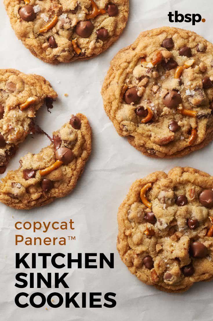 Copycat Panera™ Kitchen Sink Cookies #favourites