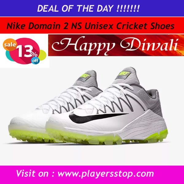 b5514b2da10b Buy original NIKE Domain 2 NS Unisex Cricket Shoes Online at best price  from www.