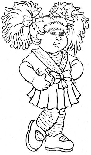 Cabbage Patch Kids 9   Stamps   Pinterest   Cabbage patch kids ...