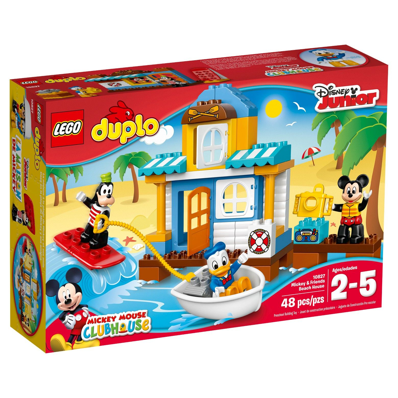 Mickey Mouse Clubhouse Beach House Duple Lego Duplo Duplo Duplo Mickey Mouse