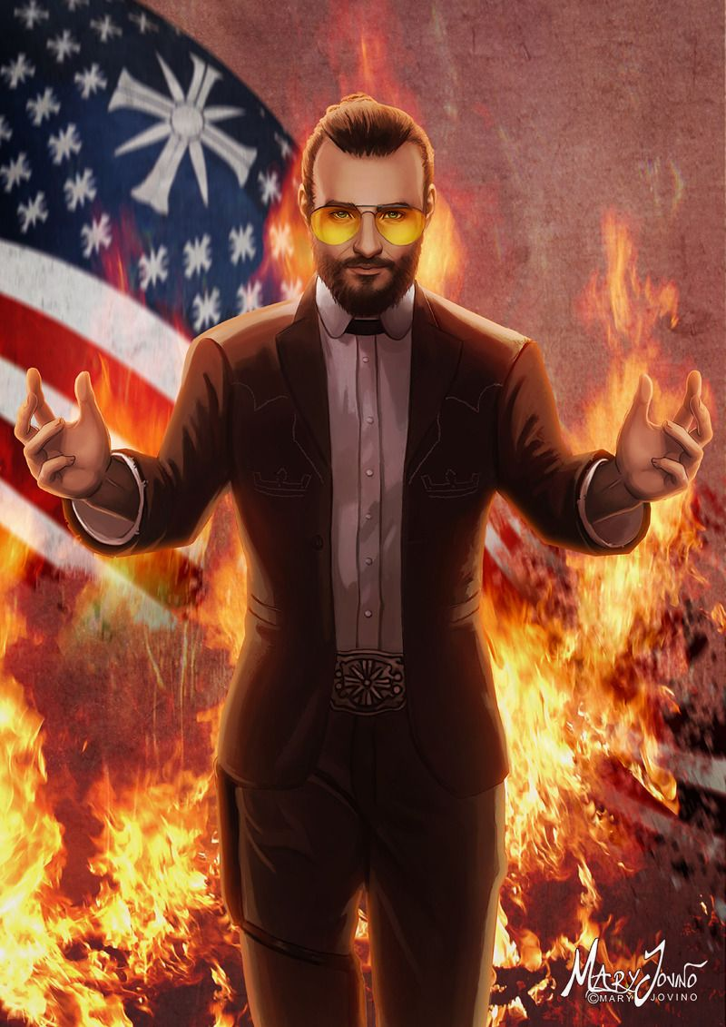 Joseph Seed From Far Cry 5 Farcry Farcry5 Edensgate Thefather Seed Art Far Cry 5 Far Cry Game