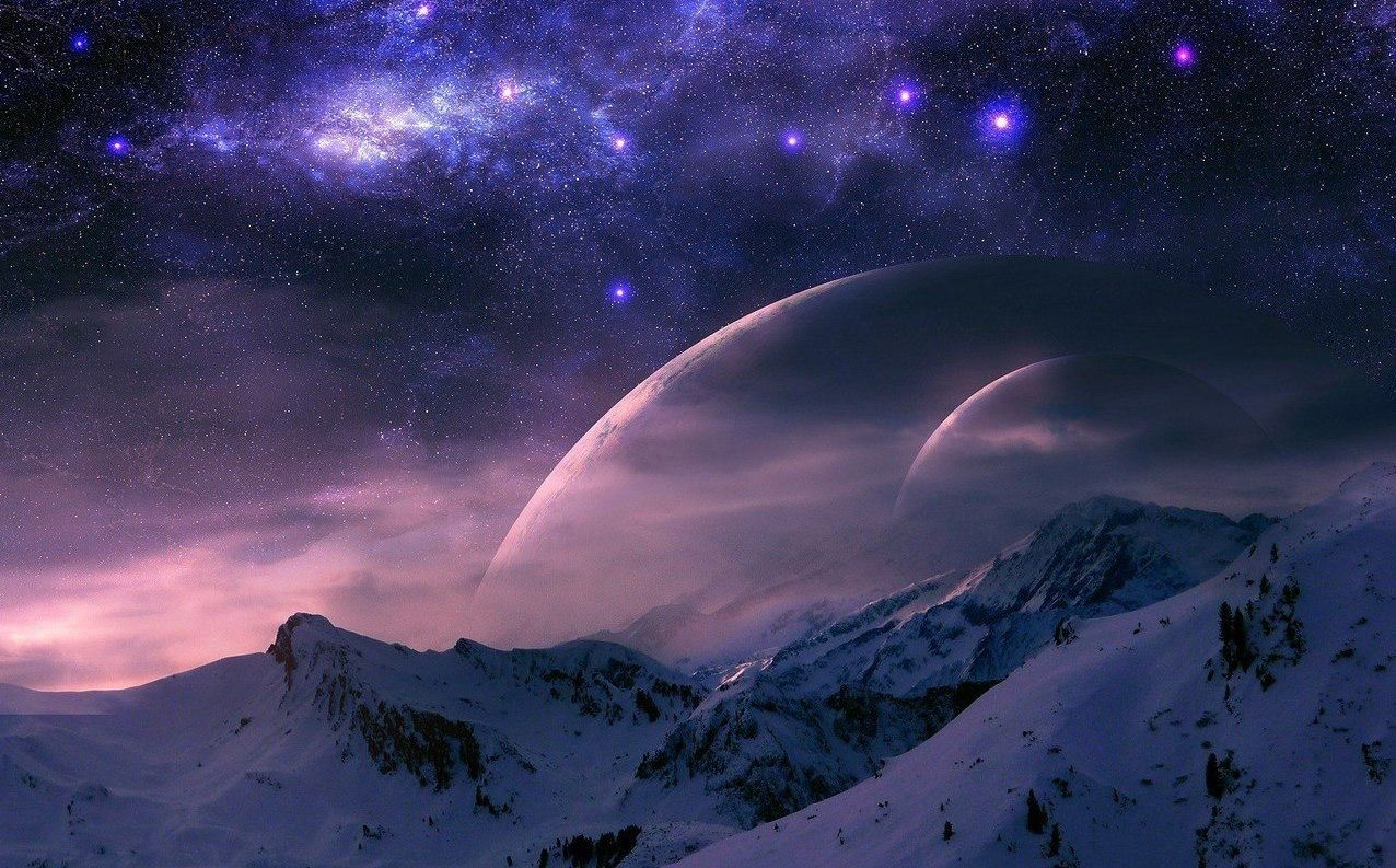 красивые картинки ночи и вселенной розетки, молдинги привносят