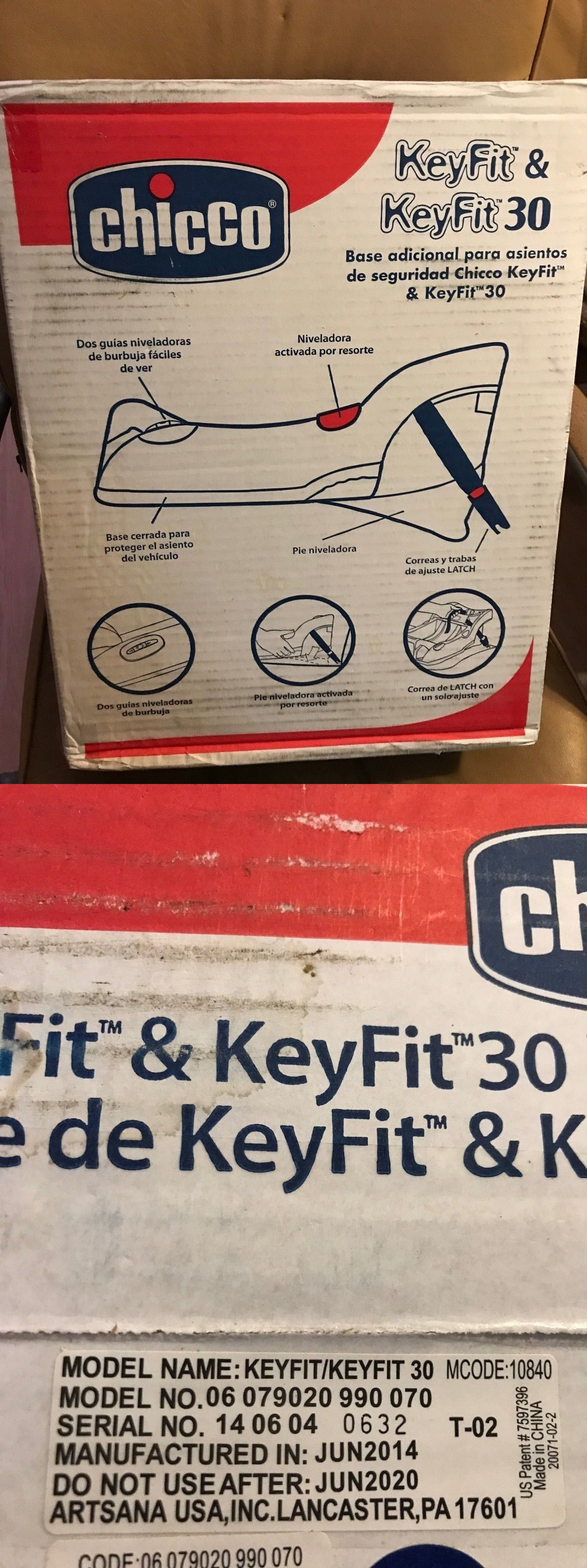 Car Seat Accessories 66693 Chicco Keyfit Base New In Box For