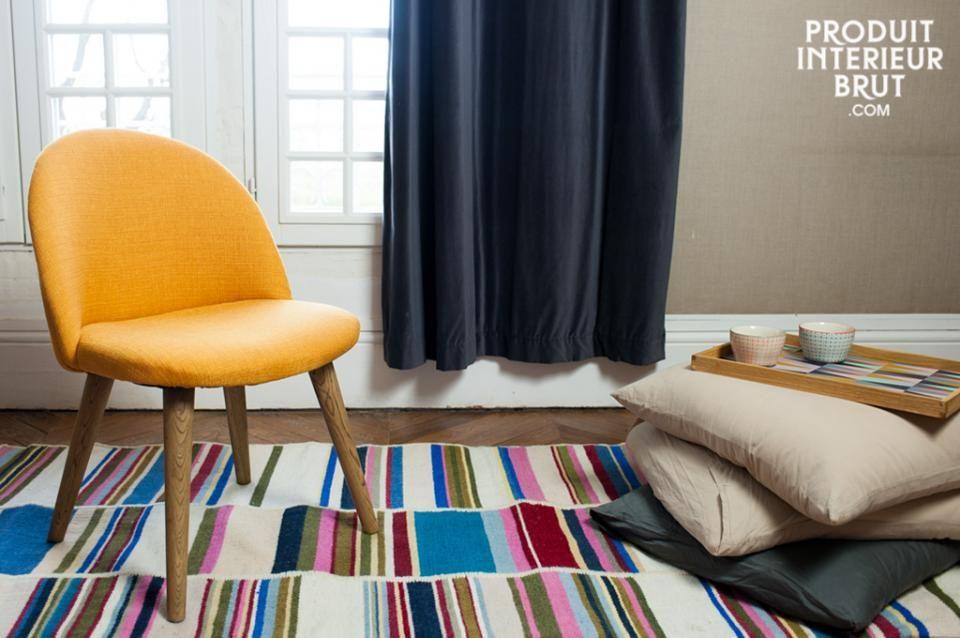 Skandinavisches wohnzimmer ~ Stuhl lear senffarben stuhl skandinavisches wohnzimmer und