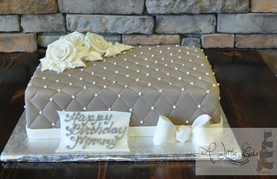 Quilted Cake Design Let Them Eat Cake Pinterest Cake