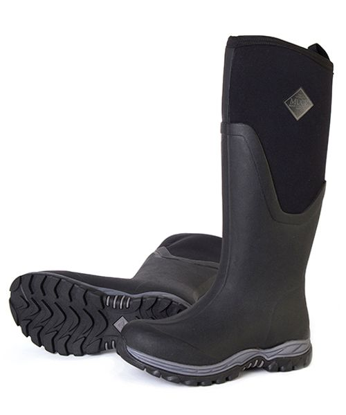 The Muck Boot Company Arctic Sport II Green the warmest ladies welly