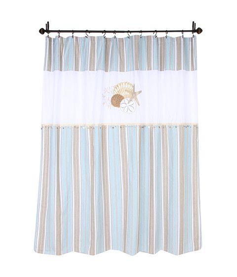 Avanti By The Sea Shower Curtain Cortinas De Ducha Nauticas Banos Playa Santa