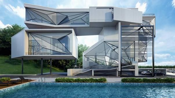 Uoa-Aviator's Villa by URBAN OFFICE ARCHITECTURE as Architects