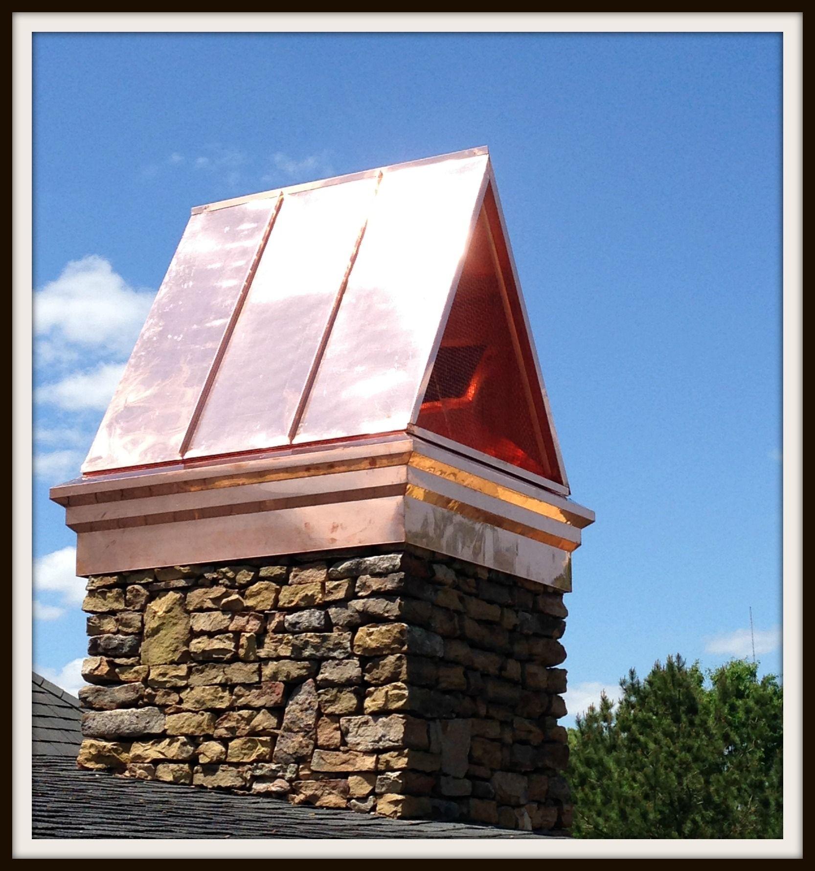 our roosevelt chimney shroud designed to hide those ugly spark