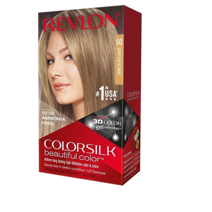 Revlon ColorSilk Beautiful Permanent Hair Color  Dark Ash Blonde  1 Kit #ashblondebalayage