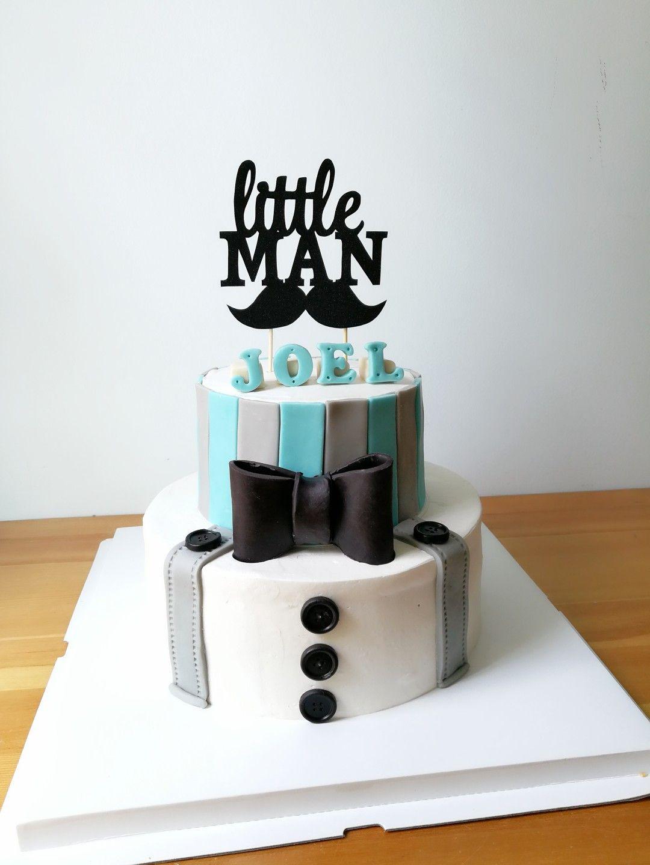 Little Man Theme Cake Gentleman Baby Shower Ideas Baby Boy Birthday 1st Birthday Boy Themes