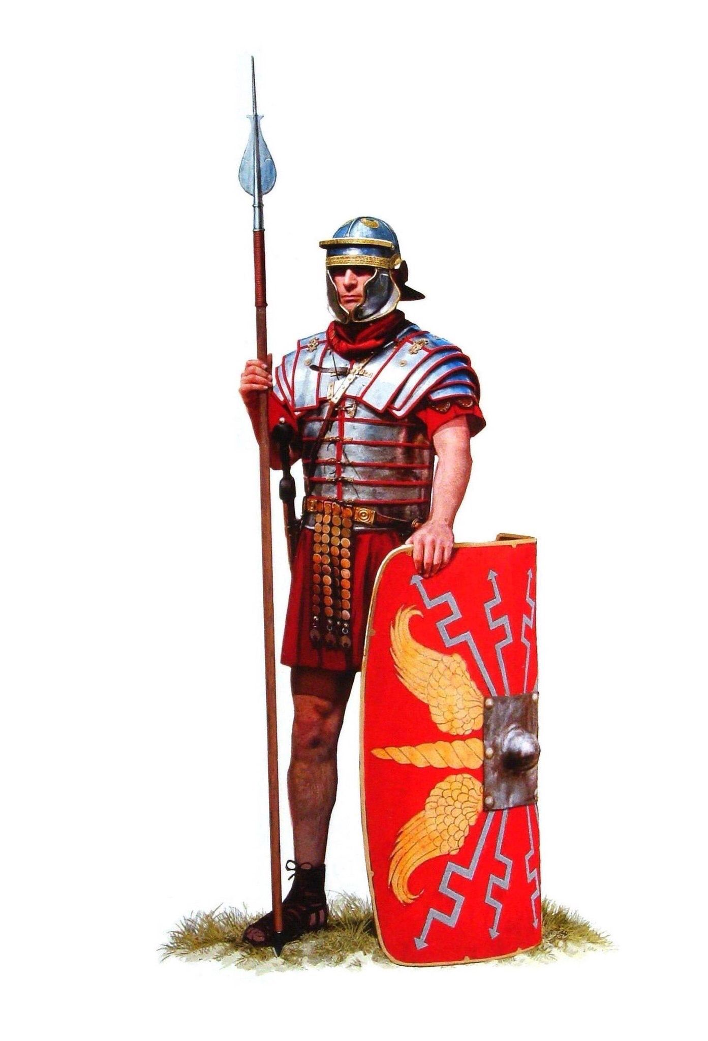 roman soldier early second century ad the mighty roman army