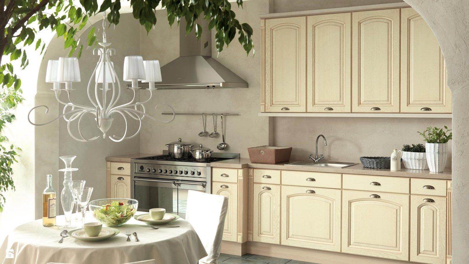 Wystroj Wnetrz Kuchnia Styl Prowansalski Projekty I Aranzacje Najlepszych Designerow Prawdziwe Inspiracje Dla Kazdego Kitchen Cabinets Kitchen Home Decor