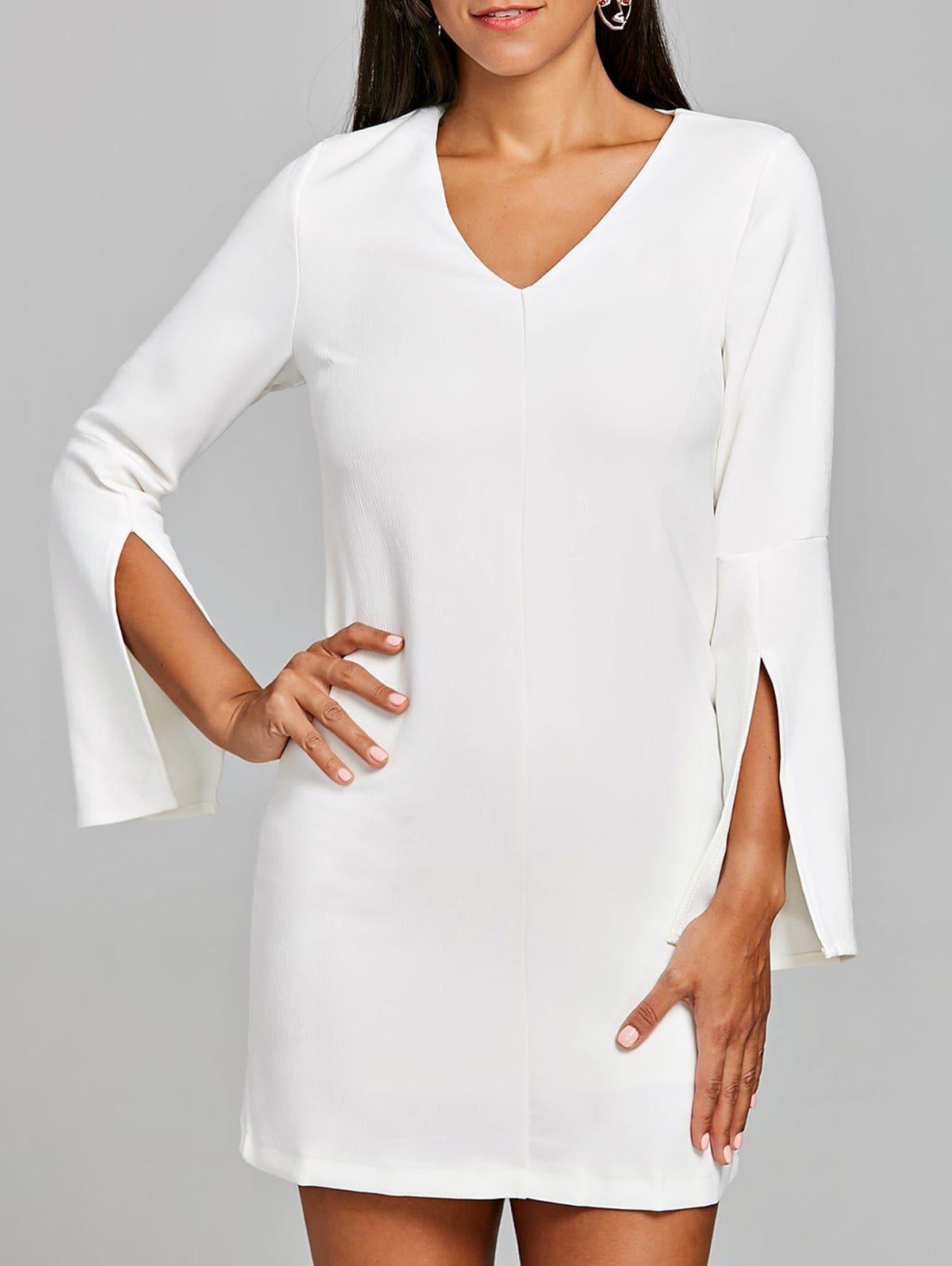 Elegant White Dresslily Dress by Tamara Bellis