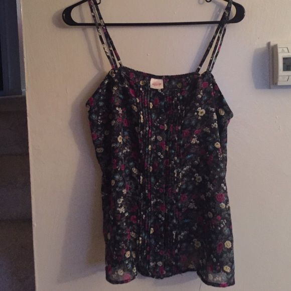 Foral spaghetti strap Every cute button up floral top Mossimo Supply Co Tops